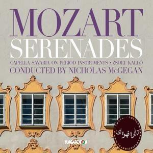 Capella Savaria & Nicholas McGegan - Mozart: Serenades (2020)